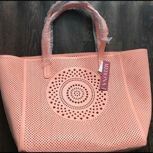 Merona Pink Oversized Tote Brand New